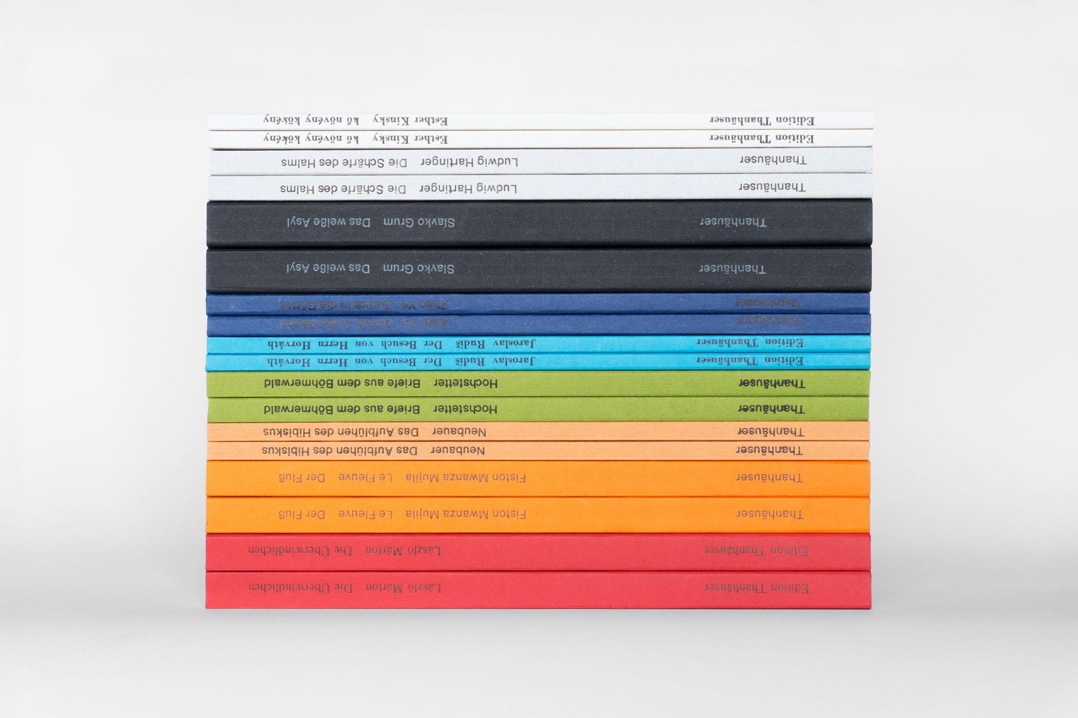 Bücher der Edition Thanhäuser illustriert von Christian Thanhäuser