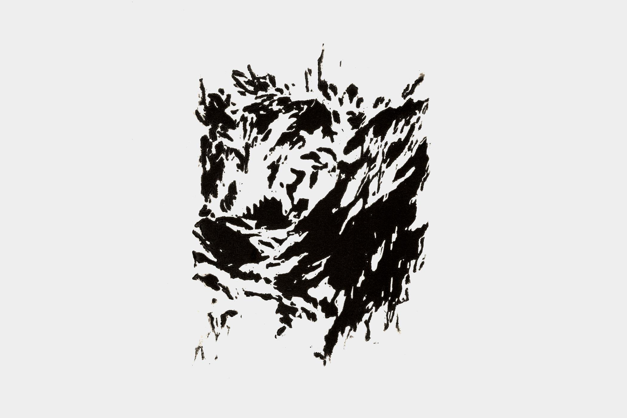 Holzschnitt von Christian Thanhäuser zu Karl Kraus