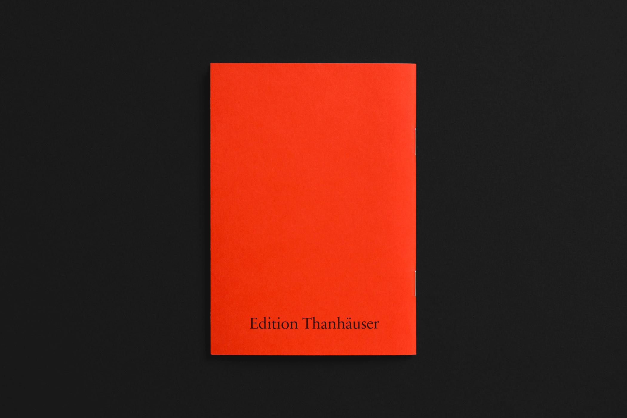 Rückseite der Bücherschädlinge Broschür der Edition Thanhäuser mit Holzschnitten von Christian Thanhäuser