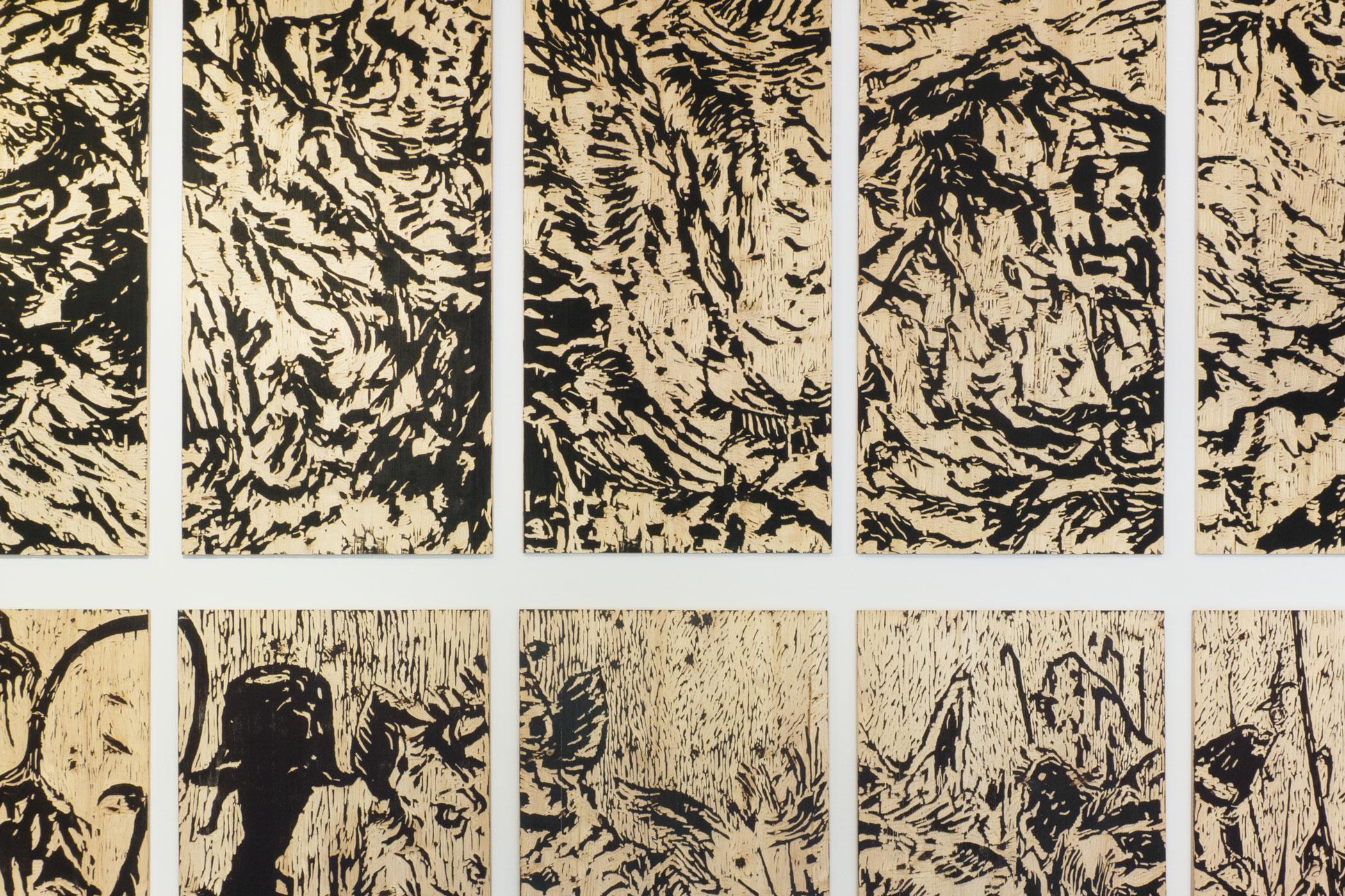 Ausstellung von Christian Thanhäuser mit Holzschnitten zu Karl Kraus